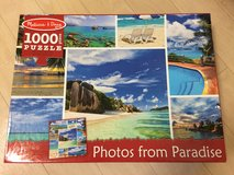 Melissa & Doug 1000 pieces puzzle in Okinawa, Japan