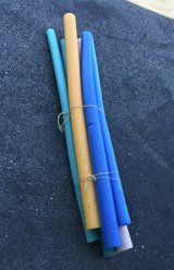 Pool noodles in Plainfield, Illinois