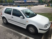 VW Golf in Vicenza, Italy