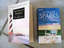 Nicolas Sparks book in English and German in Stuttgart, GE