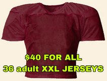 36 Adult 2XL Football Practice Jersey (new) in Naperville, Illinois