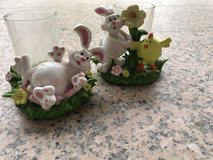 2 Easter candle votives in Ramstein, Germany