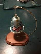 Christopher Radko Patriotic Bell Ornamant with Stand in Lockport, Illinois