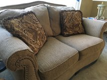 Couch and love seat in Sandwich, Illinois