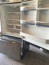 Amana stainless steel refrigerator in Tinley Park, Illinois