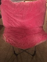 Pink Justice Butterfly Chair in Batavia, Illinois