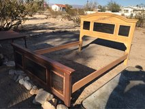 Solid Wood Bed $50 in 29 Palms, California