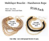 Awesome Braided Bracelets in Spring, Texas