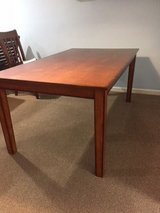 Rectangular Wooden Dining Table in Chicago, Illinois