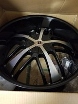 "24"" rims new in box in Fort Riley, Kansas"