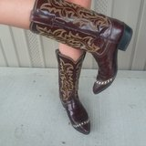 Vintage ladies size 5 1/2 B Justin western boots in Pearland, Texas