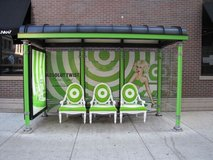 ###  4 x Bus Stop Shelters  ### in Yucca Valley, California