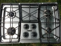 kitchenaide gas cooktop in Westmont, Illinois