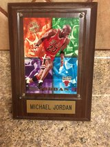 Michael Jordan plaque in Alamogordo, New Mexico