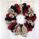 "22"" Football Wreath in Beaufort, South Carolina"