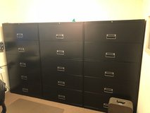 Large filing office cabinets in Oswego, Illinois