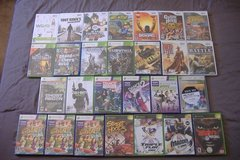 XBOX-360-KINECT-Wii Video Game Lot in 29 Palms, California