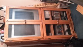 Solid oak entertainment cabinet in Fort Leonard Wood, Missouri