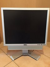 "Dell 19"" LCD Color Monitor (110V/220V) in Stuttgart, GE"