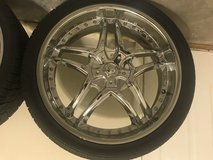 Car rims in Fort Campbell, Kentucky