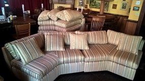 GREAT CURVED COUCH! in Batavia, Illinois