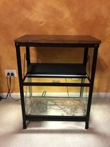 10 Gallon Aquarium/Terrarium, Stand, Heater, and Light in Naperville, Illinois