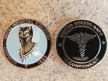 Navy Corpsman Challenge Coin Black Panther in Camp Pendleton, California