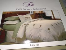 Palm Tree Duvet Kit for Full Bed in Fort Belvoir, Virginia