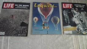 Mid Century  Life & Esquire Magazines Apollo 11 Moon Launch in Aurora, Illinois