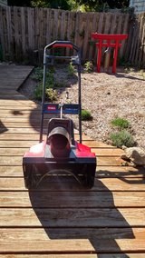 Toro Electric snow blower in Schaumburg, Illinois