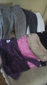 School  Clothes Girls Teen Young Adult Size Small Pants Tops Jacket 8 Garments for $5 ALL in Naperville, Illinois