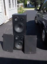 YAHAMA 3- WAY SPREAKER SYSTEMS COLUMNS in St. Charles, Illinois