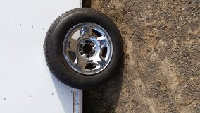 F150 17 inch tire mounted on Ford 6 lug wheel in Vacaville, California