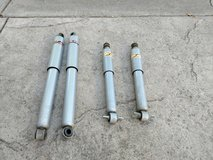 KYB gas shocks for 1994 Toyota truck 2WD SET-KY344044-2 and 343209 in Travis AFB, California