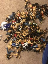 186 WWE figures with ring and accessories in Sandwich, Illinois