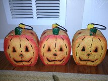 3 Pumpkin Illuminaries in Joliet, Illinois