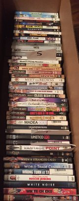 DVD'S (titles S - Y) price each in Eglin AFB, Florida