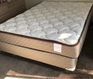 queen size bed with mattress, box and frame in San Diego, California