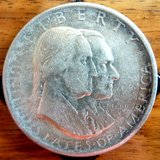 1926 SESQUICENTENNIAL Silver Commemorative Half Dollar in Baumholder, GE