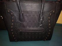 Skulls black purse/handbag in Kingwood, Texas