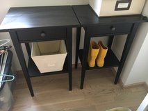 Ikea Hemnes Bedside Tables in Stuttgart, GE