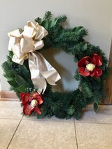 Wreath in Shorewood, Illinois