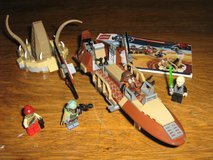 Lego Star Wars Desert Skiff 9496 in Lackland AFB, Texas