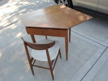 Retro Desk and Chair in Yorkville, Illinois