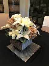 Beautiful  Silk Floral  Arrangement - Ivory / Taupe in Houston, Texas