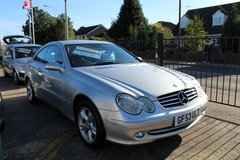 **MERCEDES CLK 320 AUTOMATIC!**LOW MILES!! FREE ROAD TAX!! 6 MONTHS WARRANTY!! in Lakenheath, UK