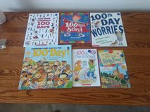 Set of 6 100th day of school books, great for teacher collection in Alamogordo, New Mexico