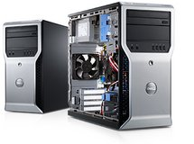Dell Precision T1600 Xeon E3 Quad core 16GB 500GB Desktop Win 10 pro workstation in Glendale Heights, Illinois