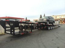 53 foot 4 Car Wedge Trailer in Travis AFB, California
