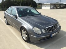 MERCEDES E270 CDI DIESEL AUTOMATIC, NEW INSPECTION in Ramstein, Germany